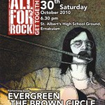 'All for Rock Gettogether' rockshow in Cochin