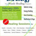 Free Pranic Healing programme in Cochin