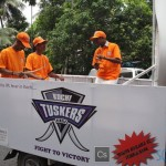Kochi Tuskers Kerala – Road Show Pictures