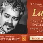 ' Lafz ' – Ghazal Concert by Hariharan at JTpac ,Cochin