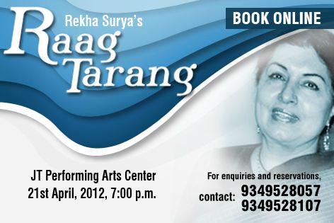 Raag Tarang by Rekha Surya at JT pac
