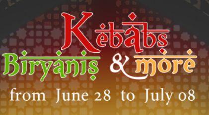 Kebab and Biryani Food Fest at Holiday Inn Cochin