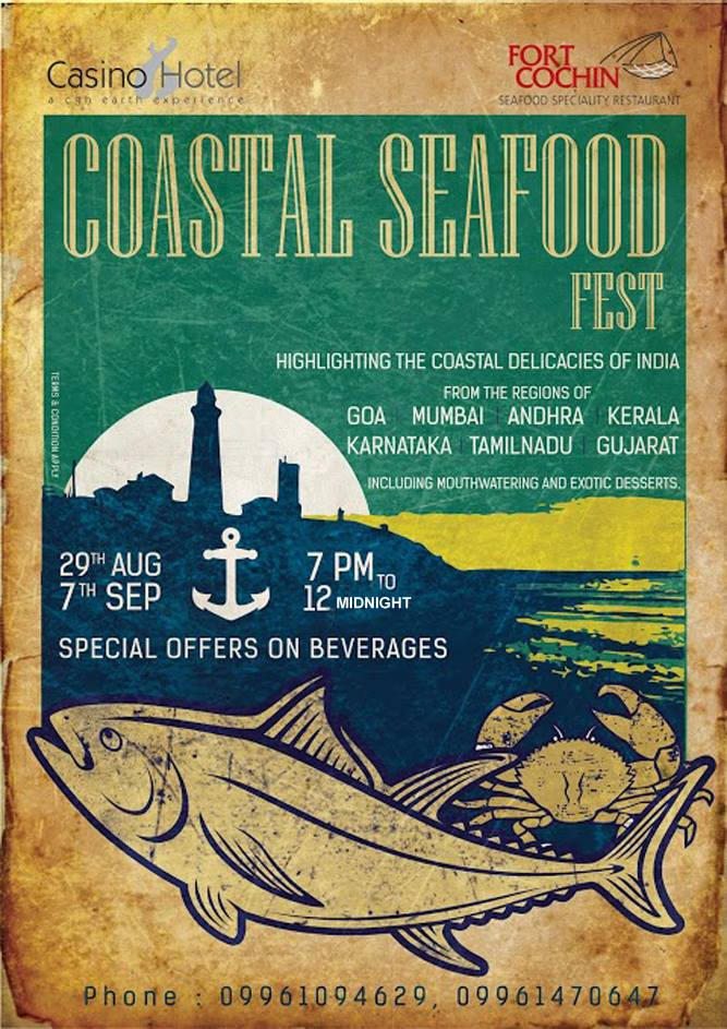 Seafood Fest at Casino Hotel